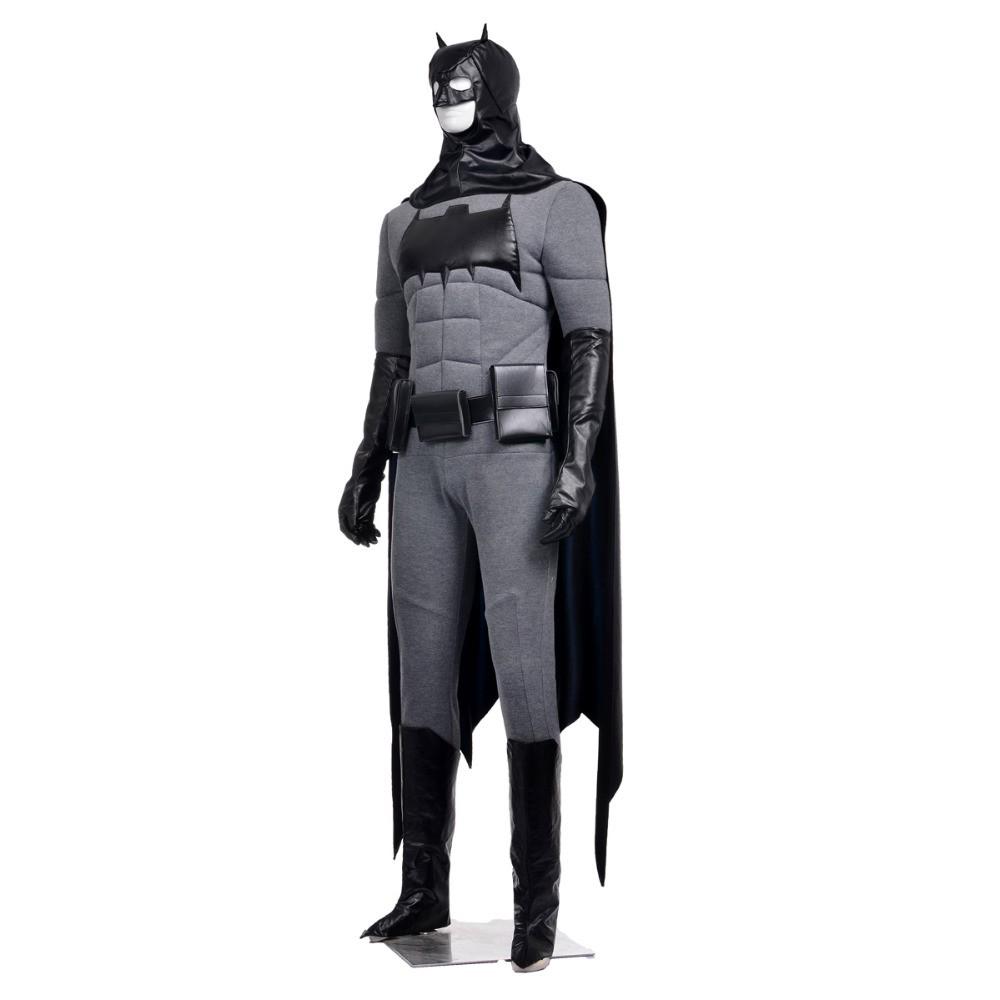 Batman Bruce Wayne Cosplay Costume Outfit Full Set