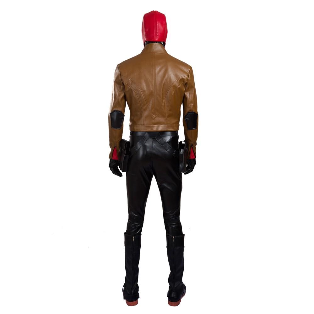 Batman Jason Todd Robin Red Hood Cosplay Costumes