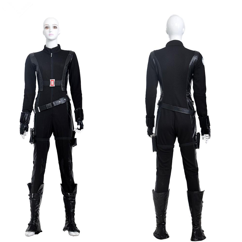 Captain America 2 Natasha Romanoff Black Widow Cosplay Costume