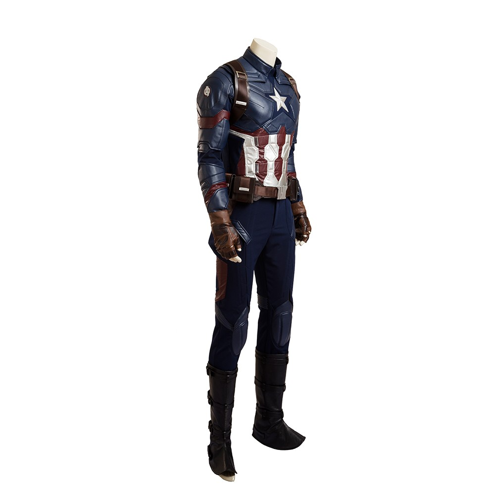 Captain America 3 Civil War Captain America Cosplay Costume Deluxe