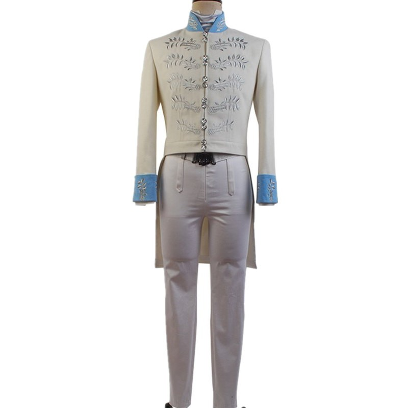 Disney Cinderella Prince Charming Kit Outfit Cosplay Costume