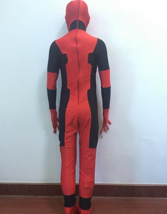Deadpool Zentai Full Body Cosplay Costumes For Kids