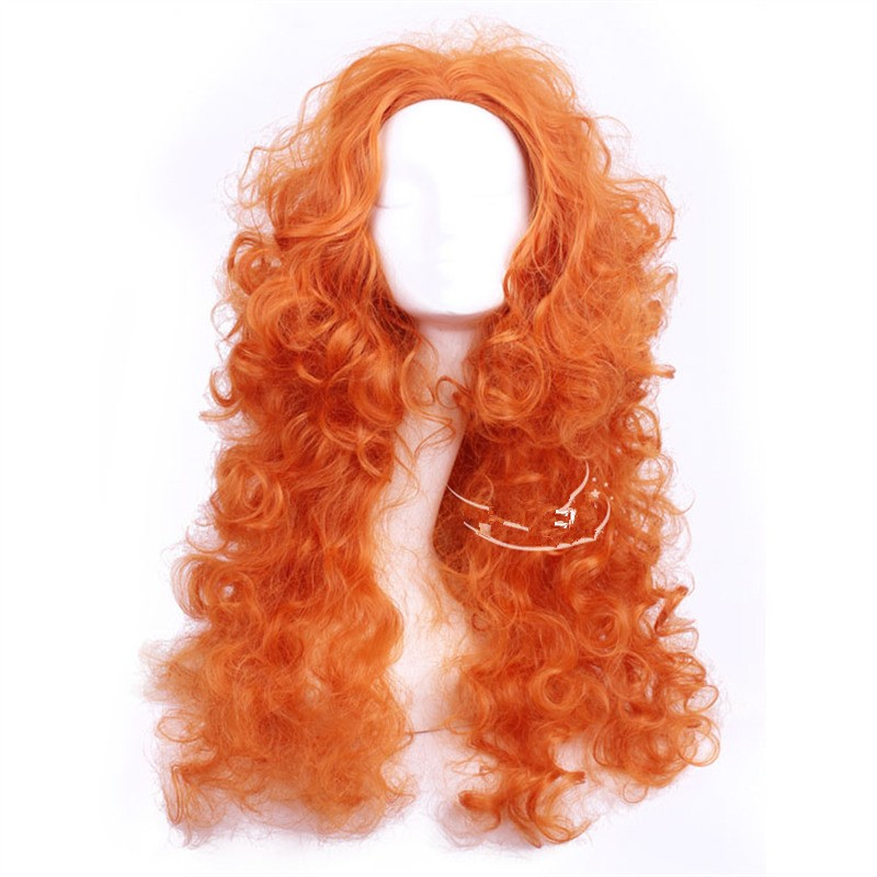 Disney Brave Princess Merida Cosplay Wigs