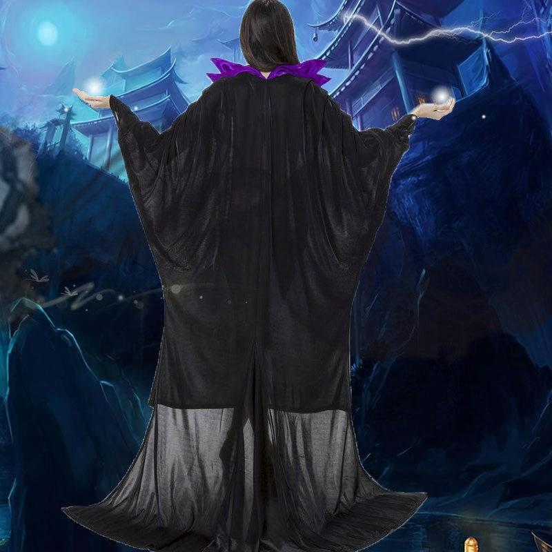 Disney Maleficent Princess Black Witch Cosplay Dress Costumes
