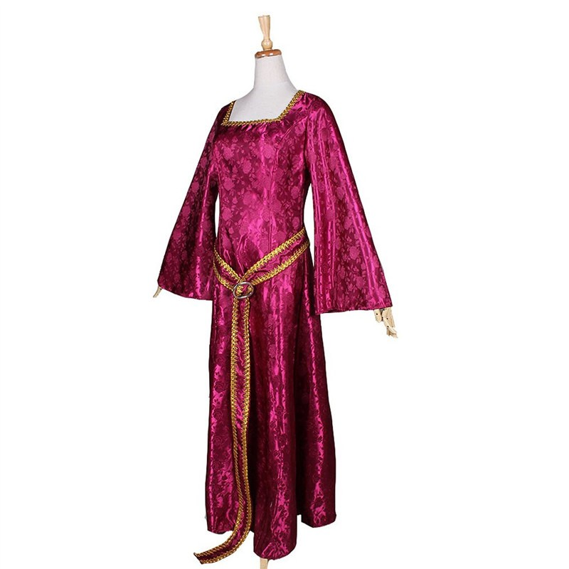 Disney Rapunzel Tangled Mother Dress Cosplay Costume