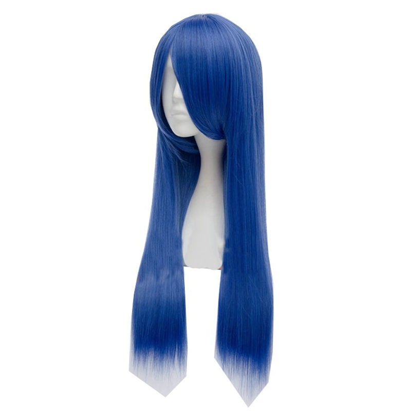 Fairy Tail Wendy Marvell Blue Wigs Cosplay