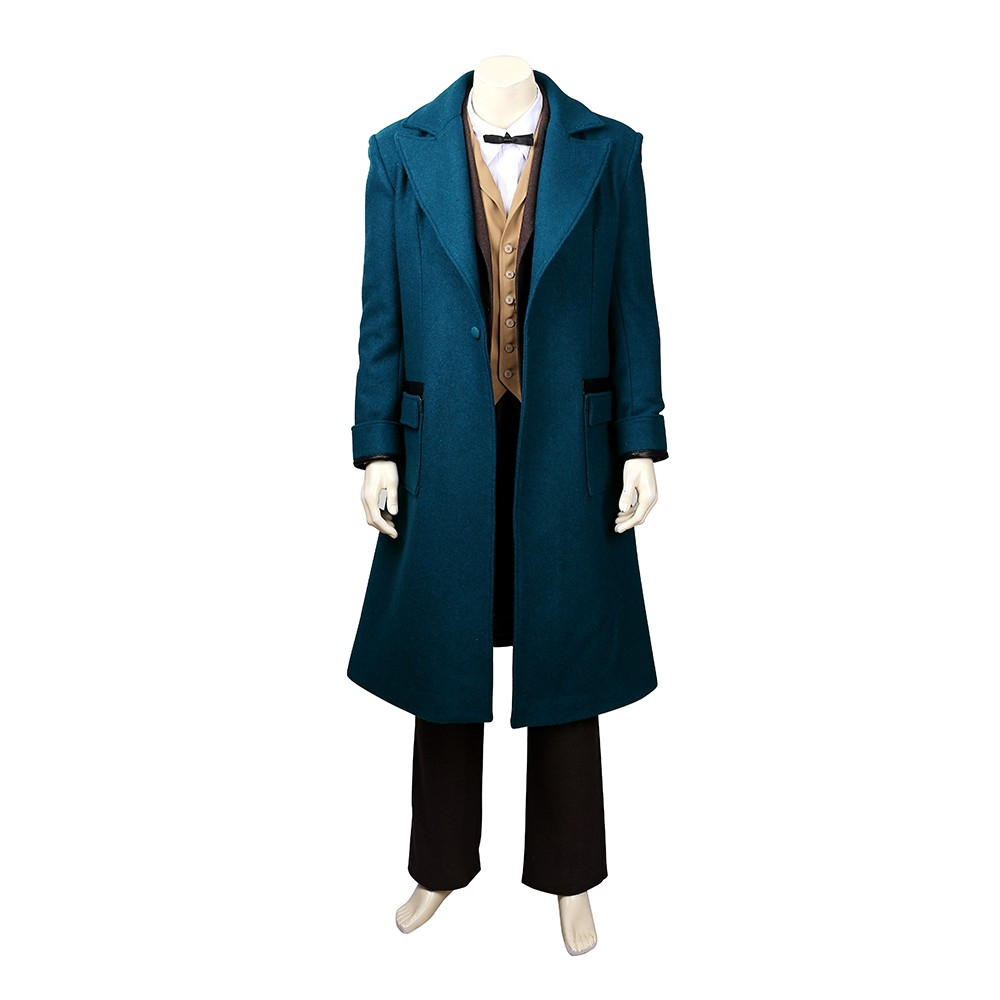 Fantastic Beasts And Where To Find Them Newt Scamander Costume Full Set Cosplay