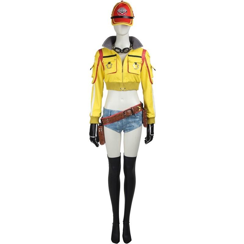 Final Fantasy XV Cindy Aurum Cosplay Costumes