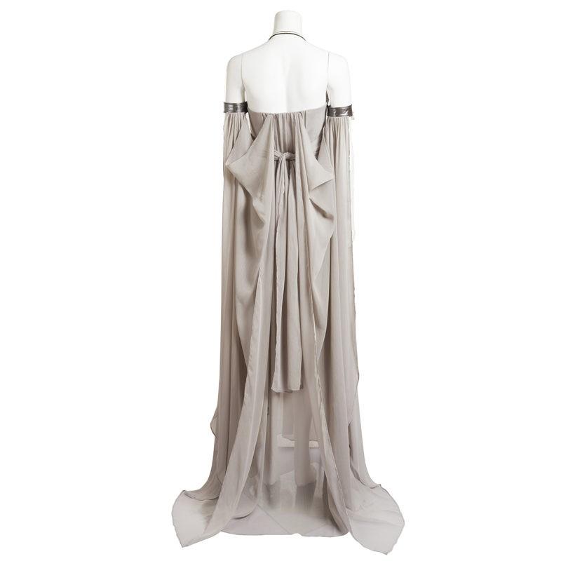 Game of Thrones Daenerys Targaryen Grey Dress Cosplay Deluxe Costume