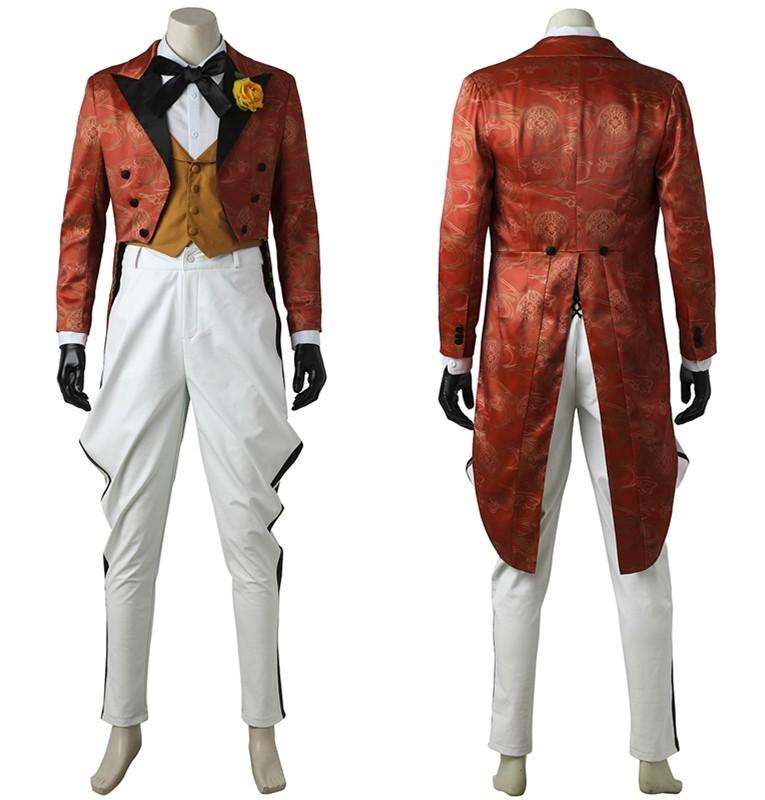 Gotham Joker Jerome Valeska Cosplay Costume Deluxe Version