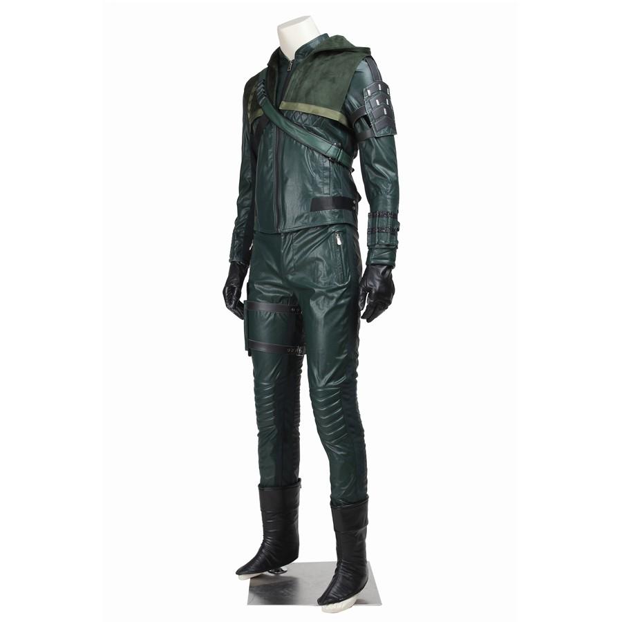 Green Arrow Season 3 Oliver Queen Arrow Cosplay Costume