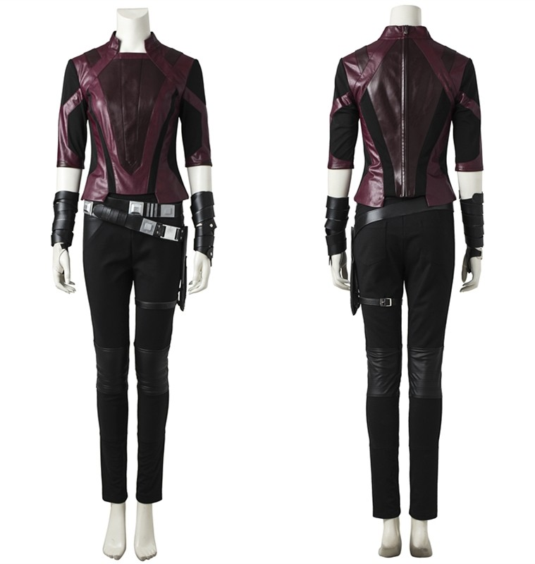 Guardians of The Galaxy 2 Gamora Cosplay Costume Short Outfit Deluxe