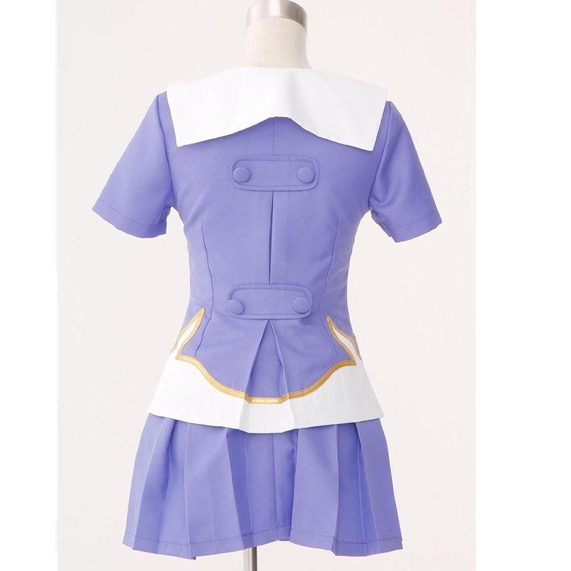 Mirai Nikki The Future Diary Gasai Yuno Dress Cosplay Costume