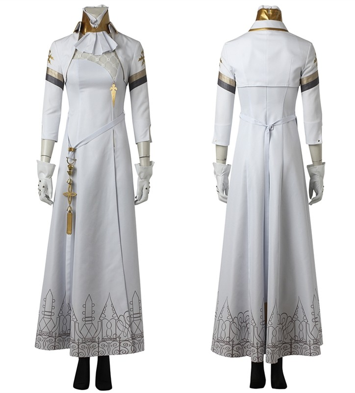 NieR Automata Commander Cosplay Costume Dress Deluxe Version