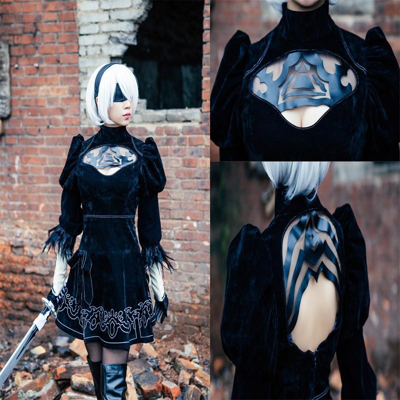 NieR: Automata YoRHa No.2 Type B Cosplay 2B Costume