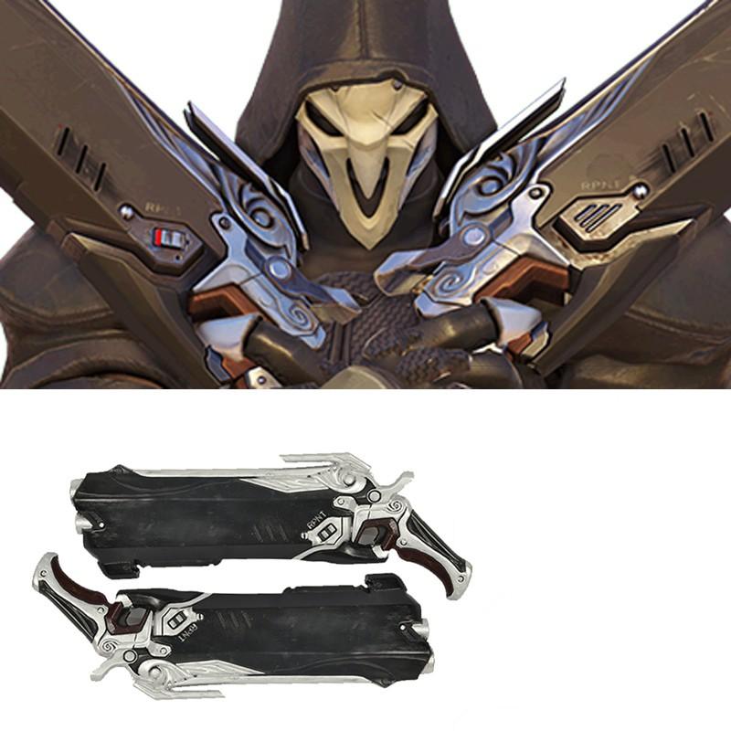 Overwatch Reaper Guns Cosplay Prop
