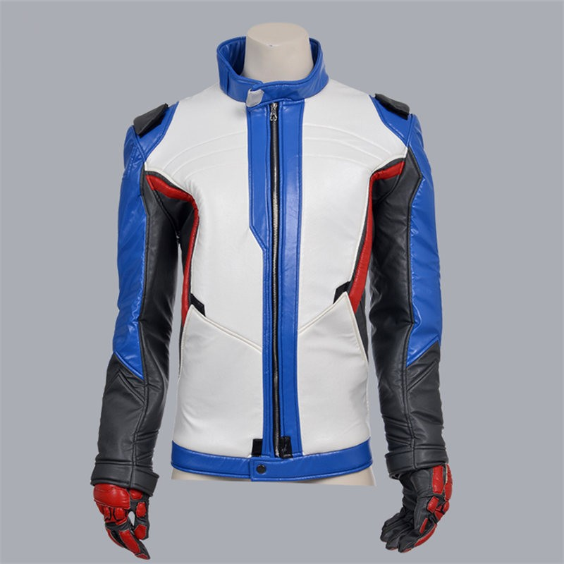 Overwatch Soldier 76 Jacket Cosplay Costumes