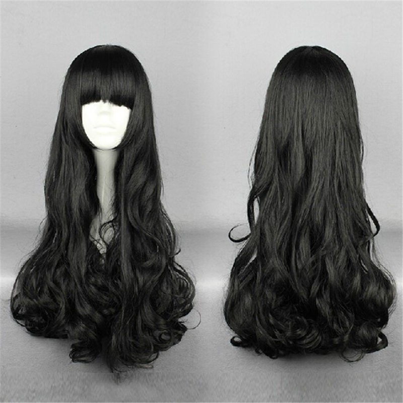 RWBY Black Trailer Blake Belladonna Long Hair Cosplay Wigs