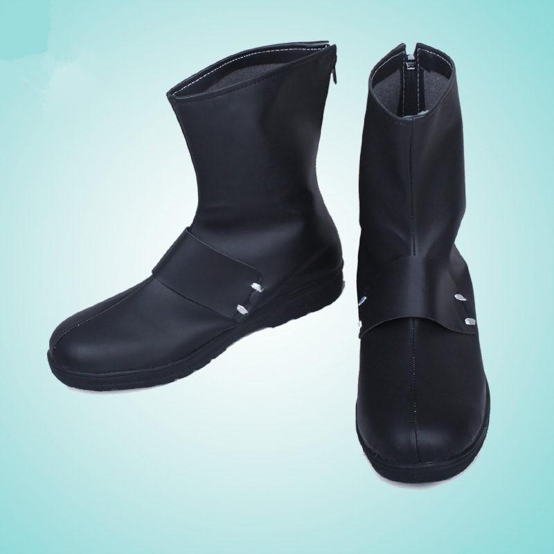 RWBY Qrow Branwen Black Cosplay Shoes