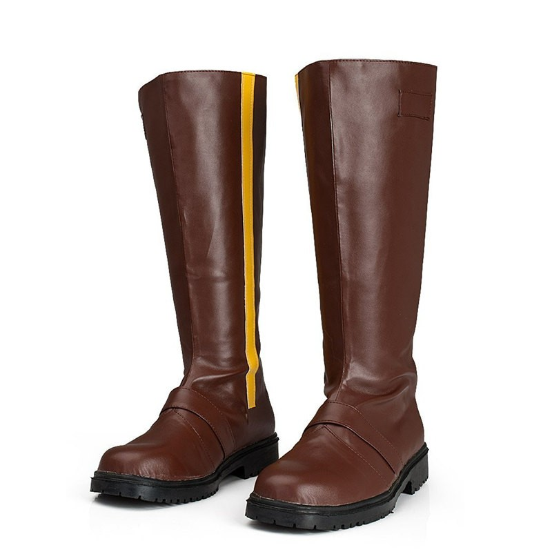 RWBY Yellow Trailer Yang Xiao Long Cosplay Boots