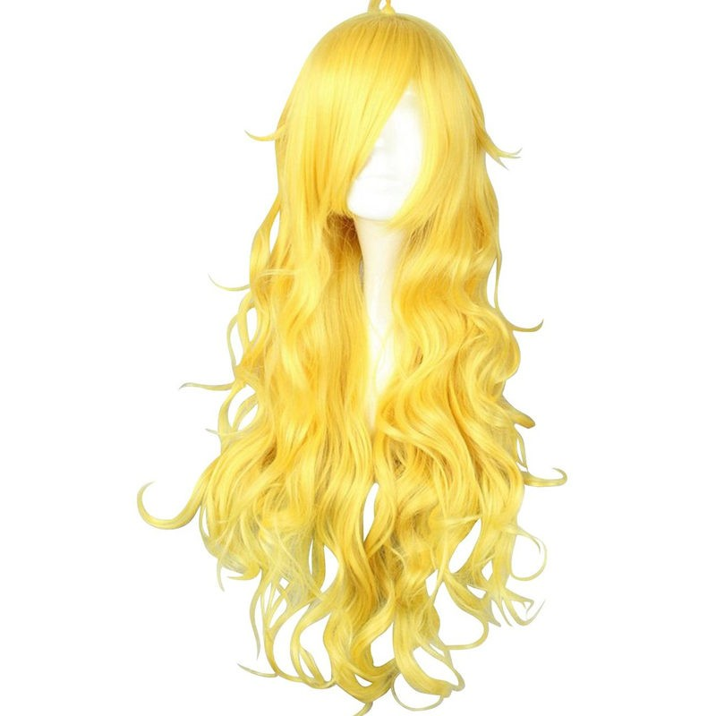 RWBY Yellow Trailer Yang Xiao Long Cosplay Wigs