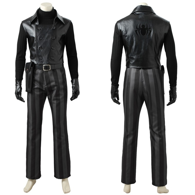 Spider-man Noir Cosplay Costume Deluxe Outfit