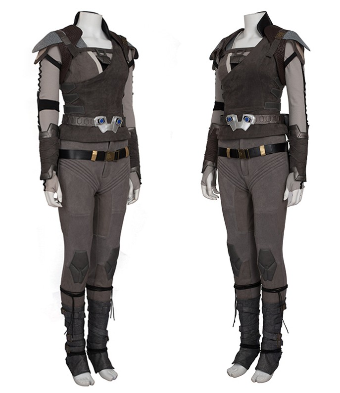 Star Trek Beyond Jaylah Cosplay Costume Deluxe Outfit