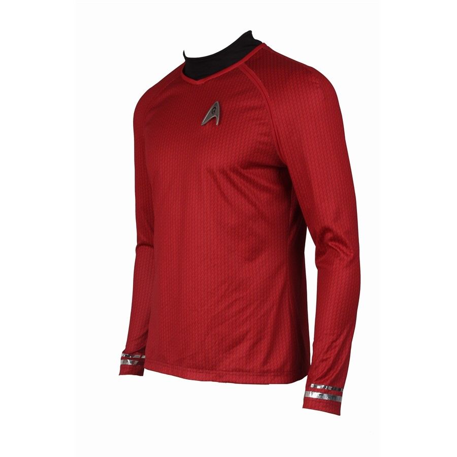 Star Trek Into Darkness Montgomery Scott Scotty Red Uniform Costume