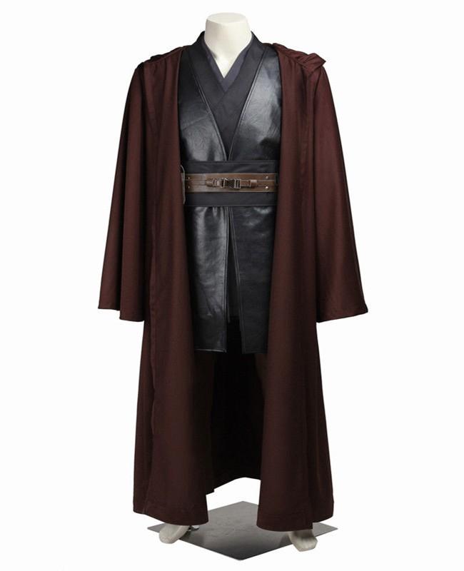 Star Wars III Revenge of the Sith Anakin Skywalker Cosplay Costume Deluxe
