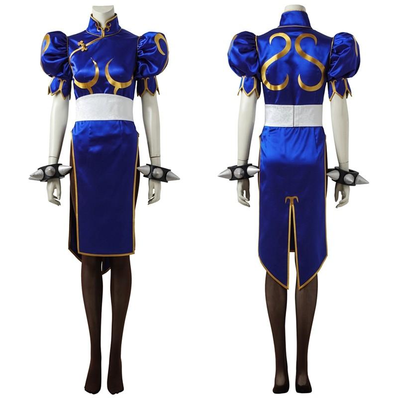Street Fighter V Chun-Li Cosplay Costume