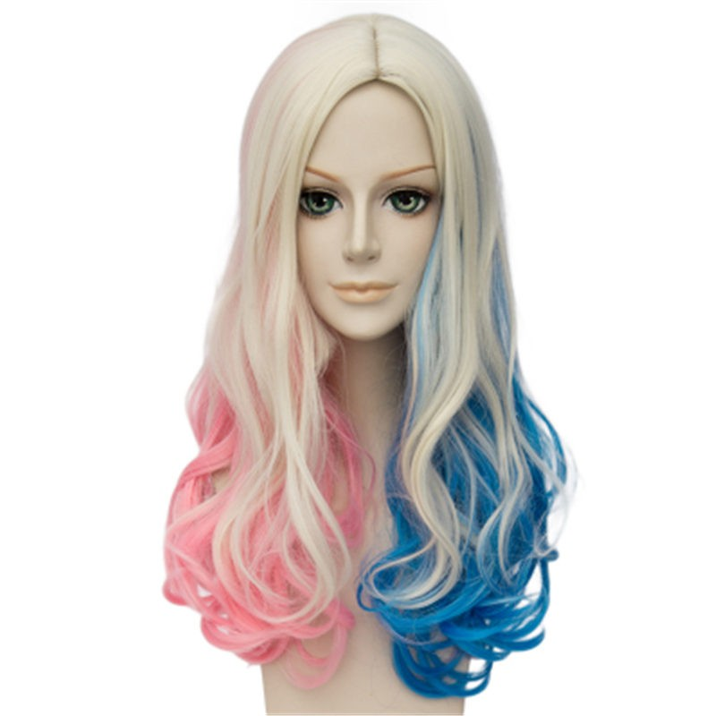 Suicide Squad Harley Quinn Cosplay Wigs