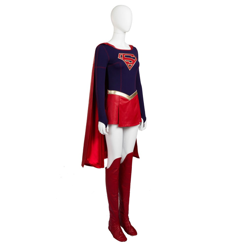 Supergirl Cosplay Costume Deluxe Version