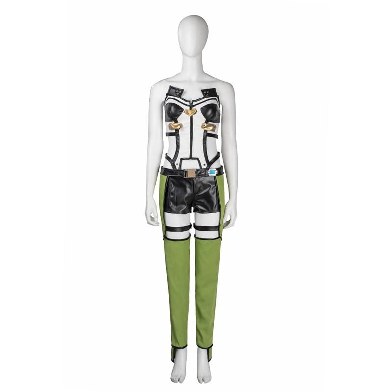Sword Art Online Asada Sinon Cosplay Costume Deluxe