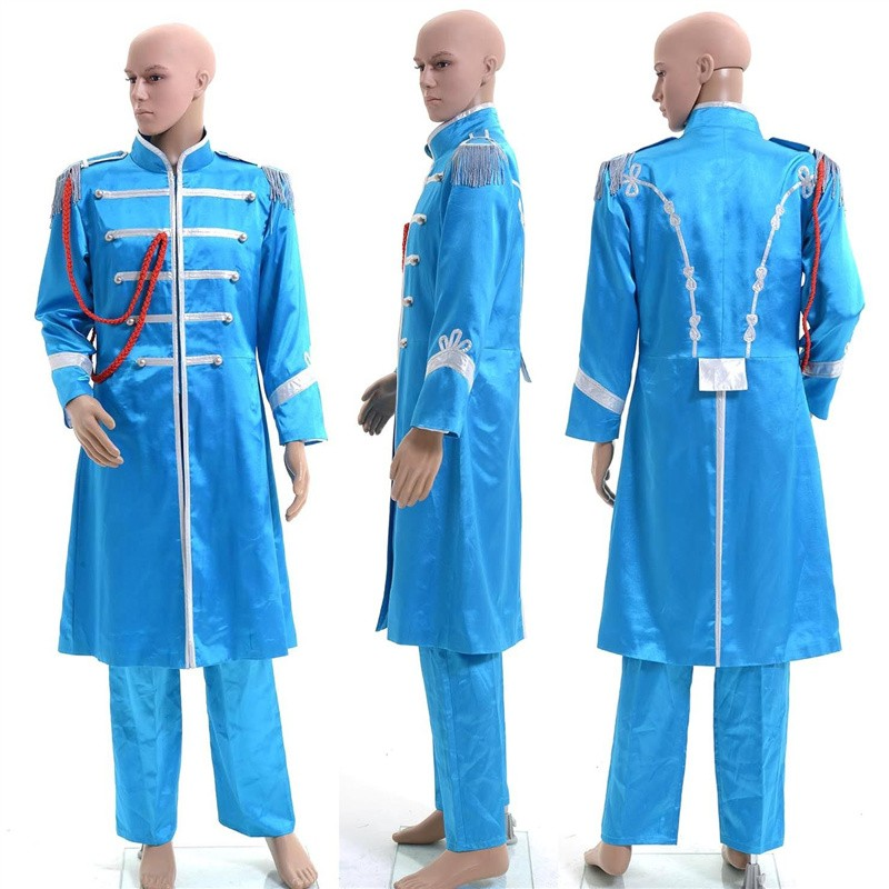 The Beatles Sgt. Pepper's Lonely Hearts Club Band Paul McCartney Cosplay Costume