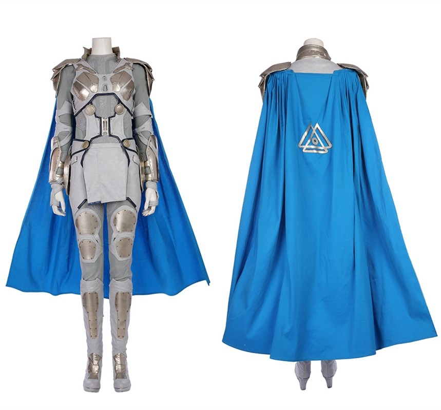 Thor Ragnarok Valkyrie Cosplay Costume Deluxe Costume