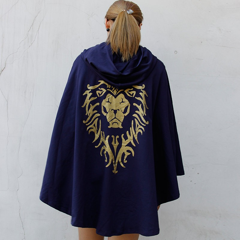 World Of Warcraft Stormwind Alliance Cosplay Cloak