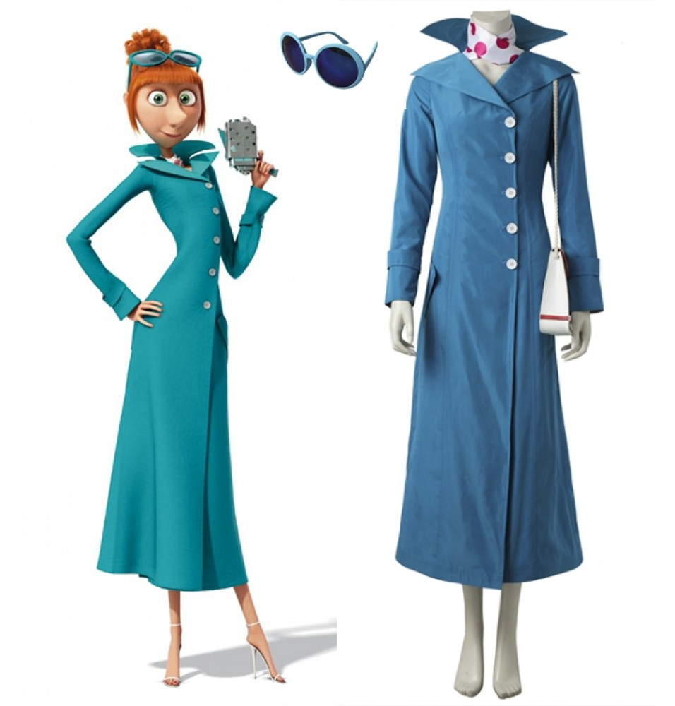 2017 Despicable Me 3 Lucy Cosplay Costume