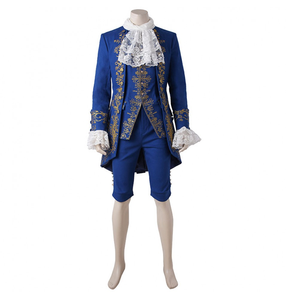 2017 Disney Beauty And The Beast Prince Beast Cosplay Costume - Deluxe Version