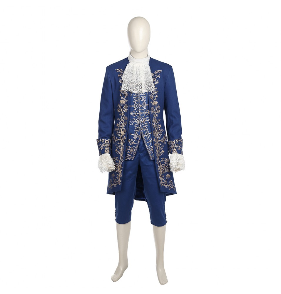 2017 Disney Beauty And The Beast Prince Beast Costume Cosplay - Deluxe Version