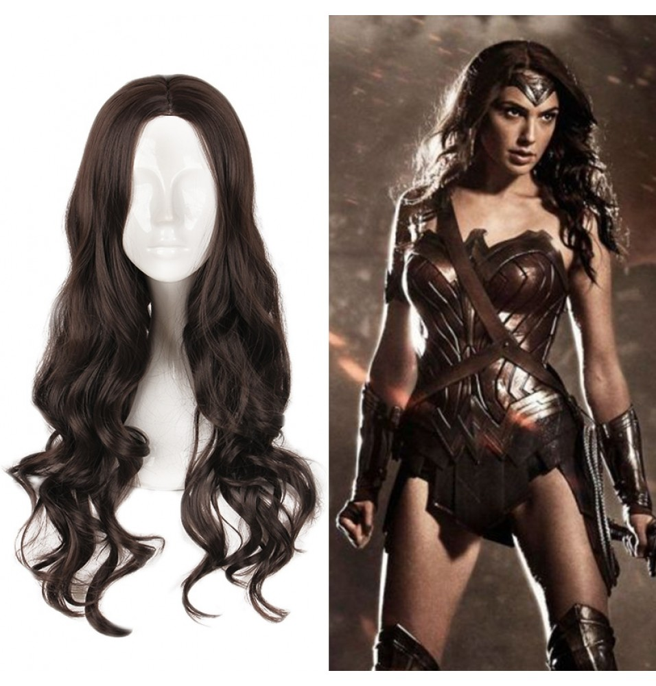 2017 New Wonder Woman Cosplay Wigs