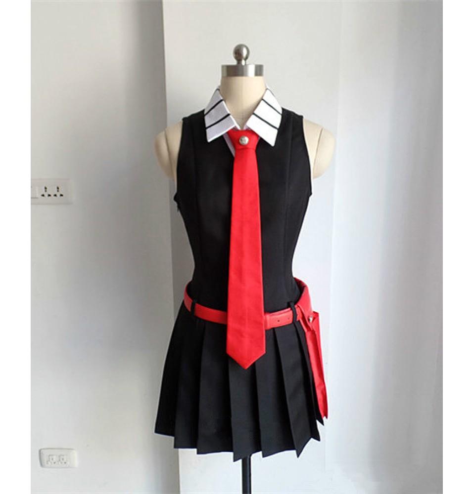 Akame ga Kill! Akame Cosplay Costume Black Uniform