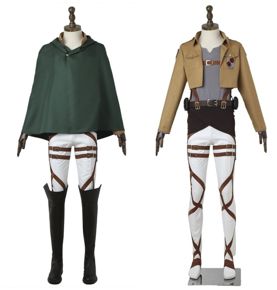 Attack on Titan Dot Pixis Cosplay Costume Stationed Corps Costume