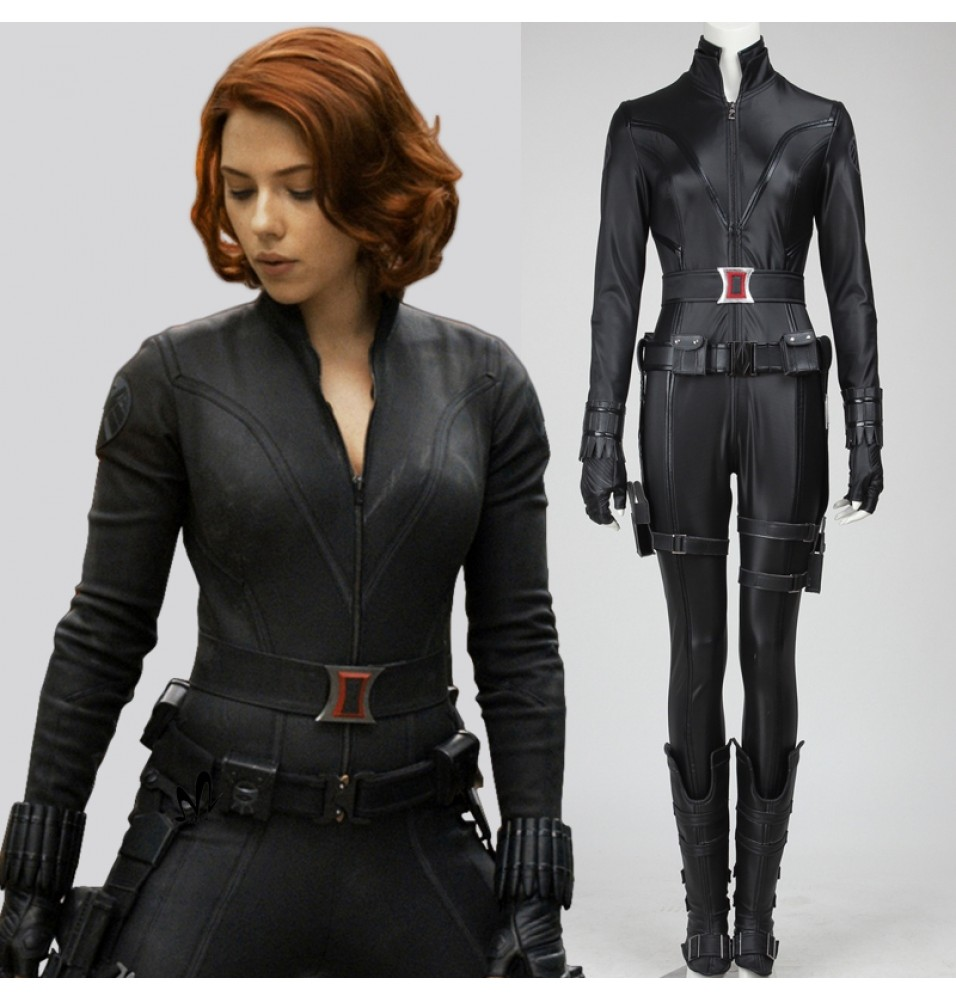 Avengers Natasha Romanoff Black Widow Cosplay Costume