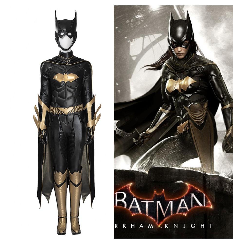 Batman Arkham Knight Batgirl Female Cosplay Costume Full Set - Deluxe Version