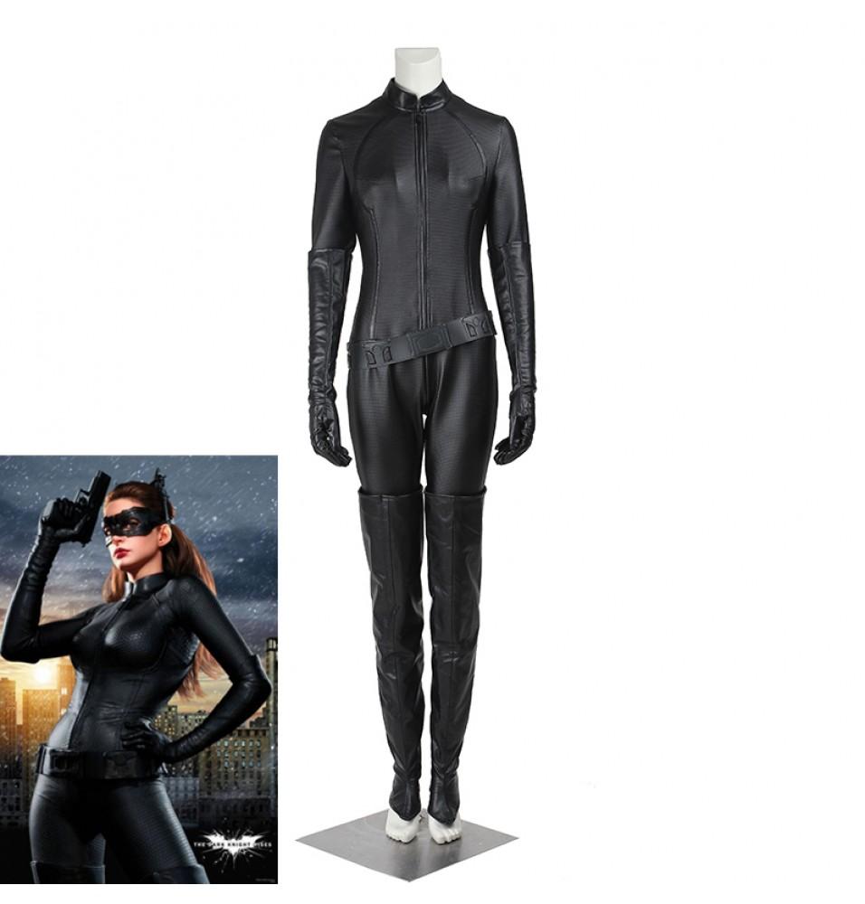Batman The Dark Knight Rises Selina Kyle Catwoman Cosplay Costume