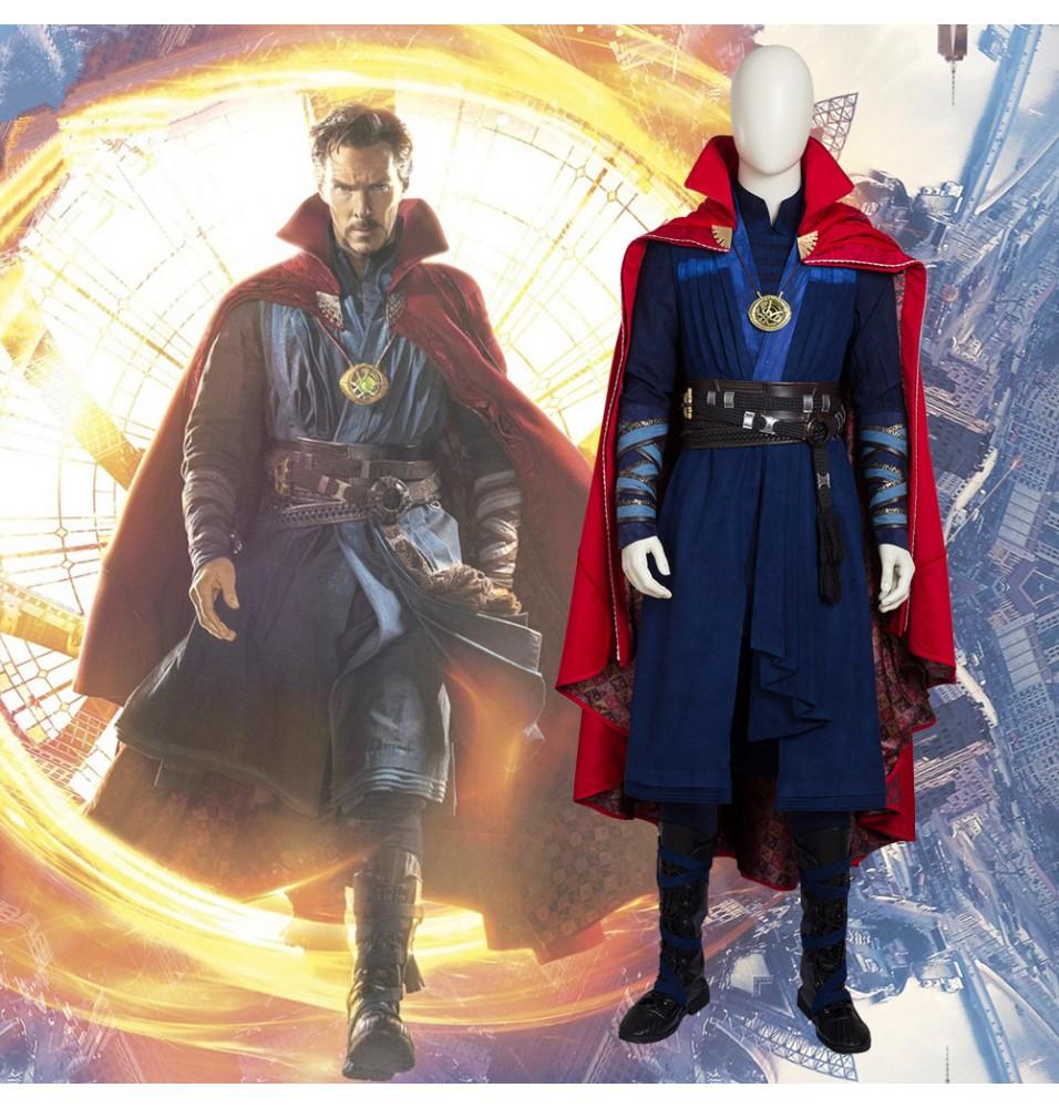 Doctor Strange Stephen Vincent Strange Cosplay Costumes - Deluxe Version