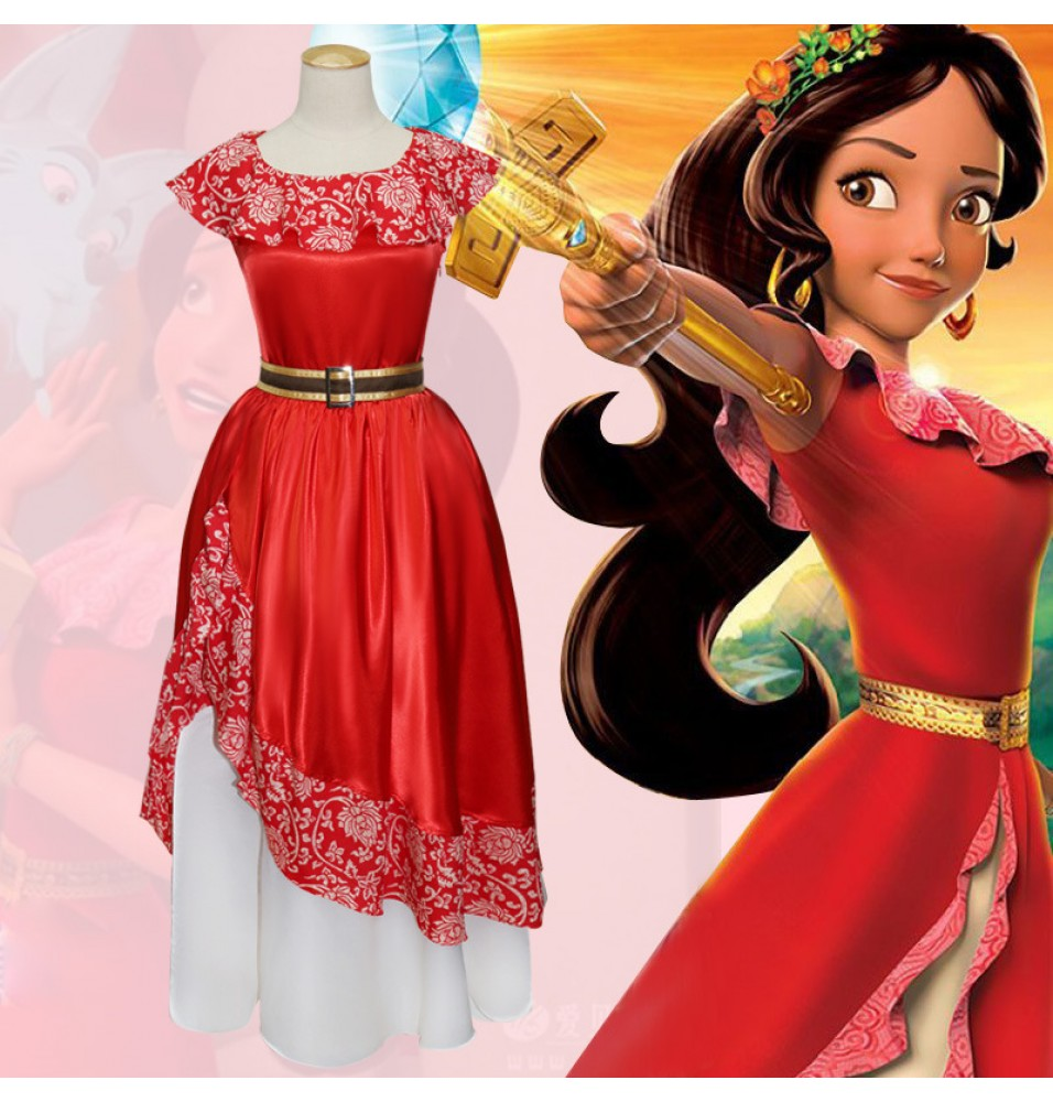Elena of Avalor Elena Princess Dress Cosplay
