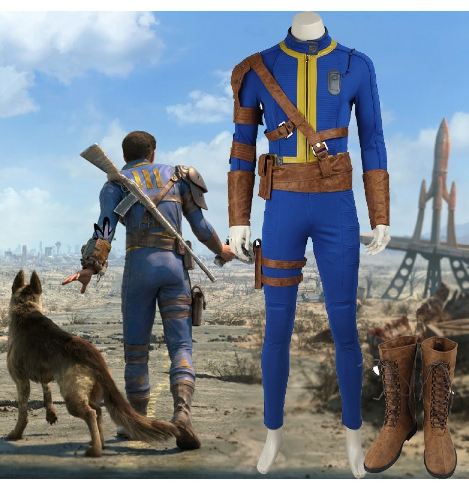 Fallout 4 Cosplay Male Sole Survivor Nate Cosplay Costume