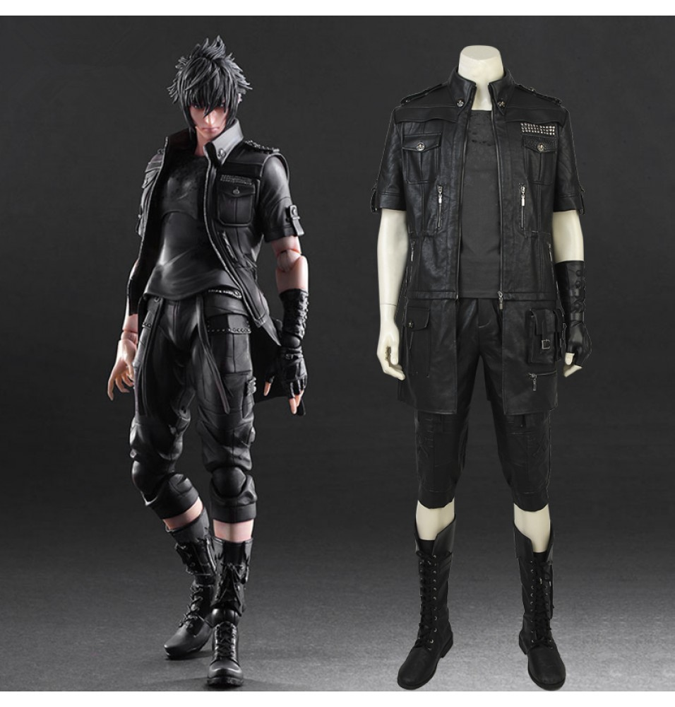 Final Fantasy XV Noctis Lucis Caelum Cosplay Costume - Deluxe Version