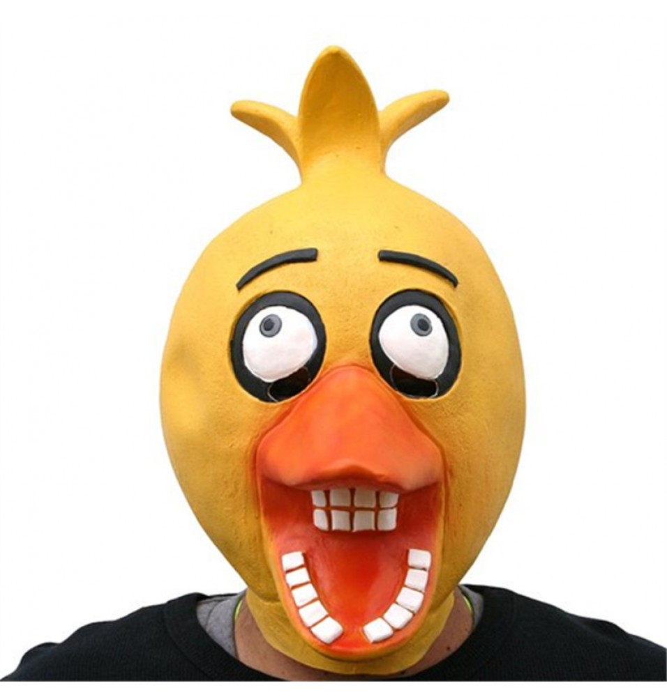 Five Nights at Freddy's Chick Chica Cosplay Latex Mask Halloween